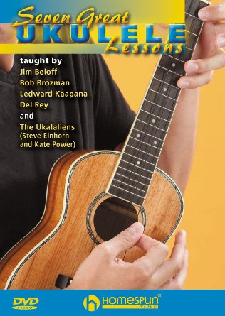 Homespun DVD or DD video Seven Great Ukulele Lessons
